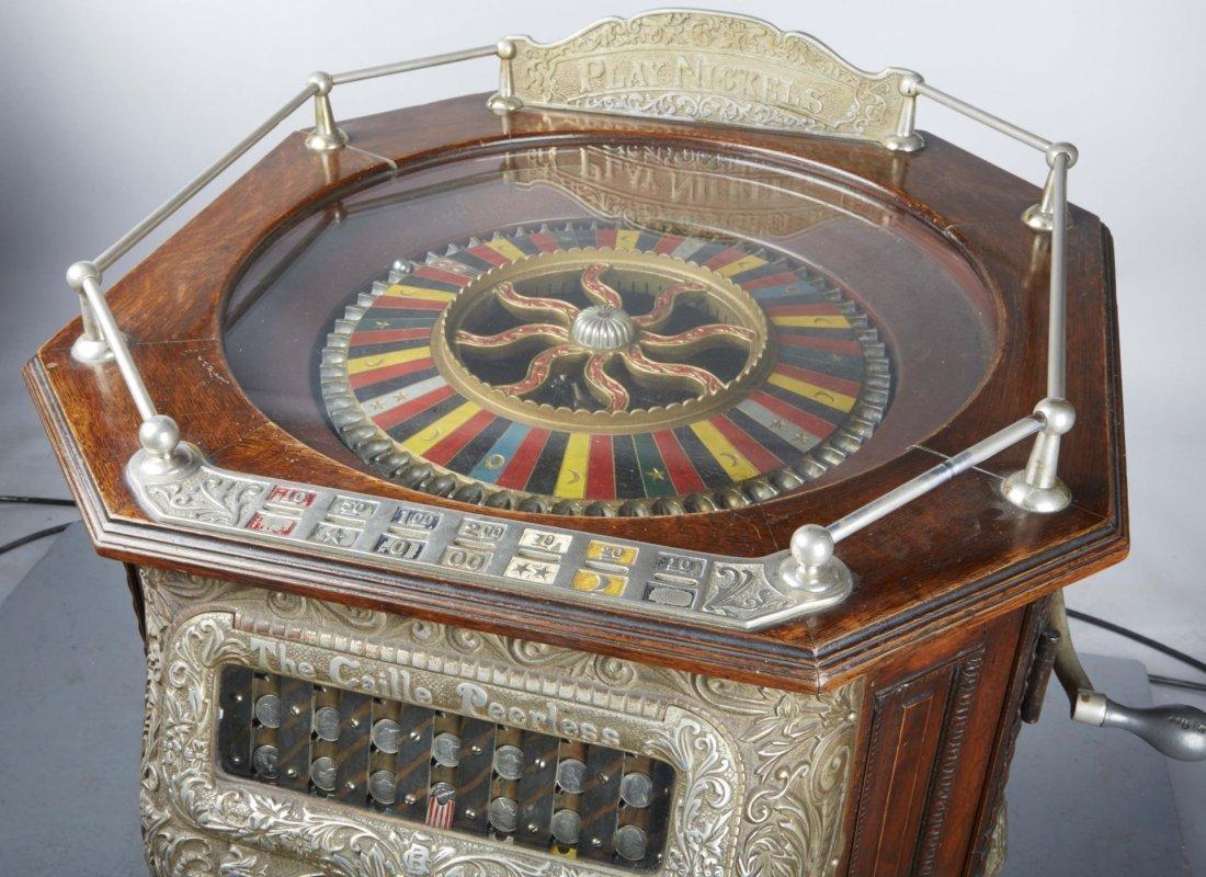 5 ¢ Caille Peerless Floor Roulette Slot Machine - 9