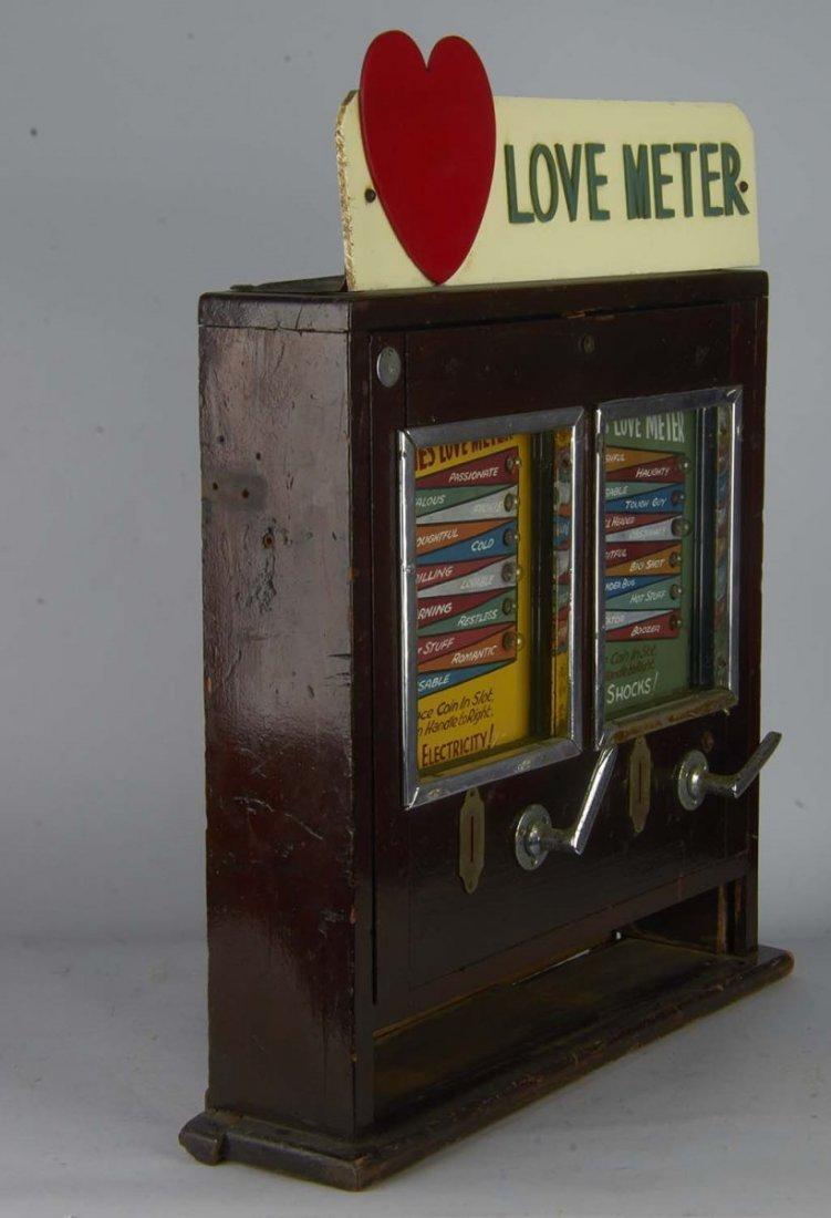 Coin-Op Love Meter Countertop Amusement Game - 5