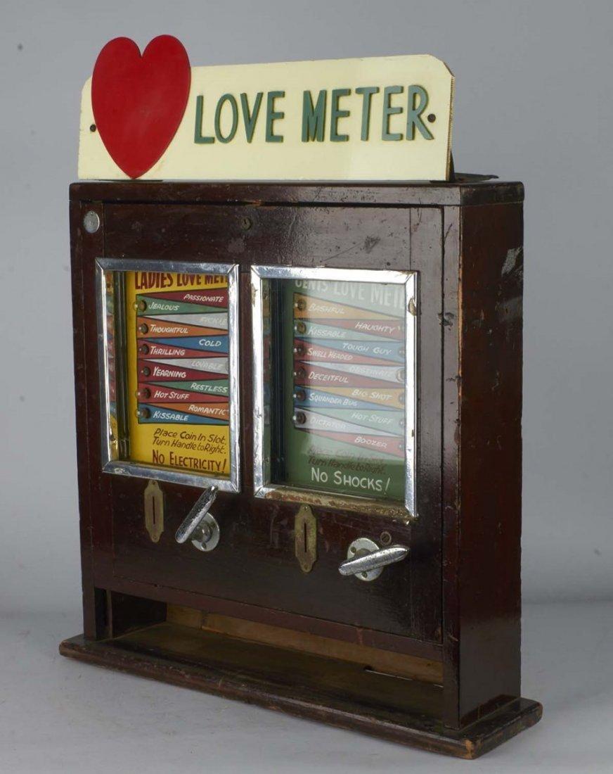 Coin-Op Love Meter Countertop Amusement Game - 6