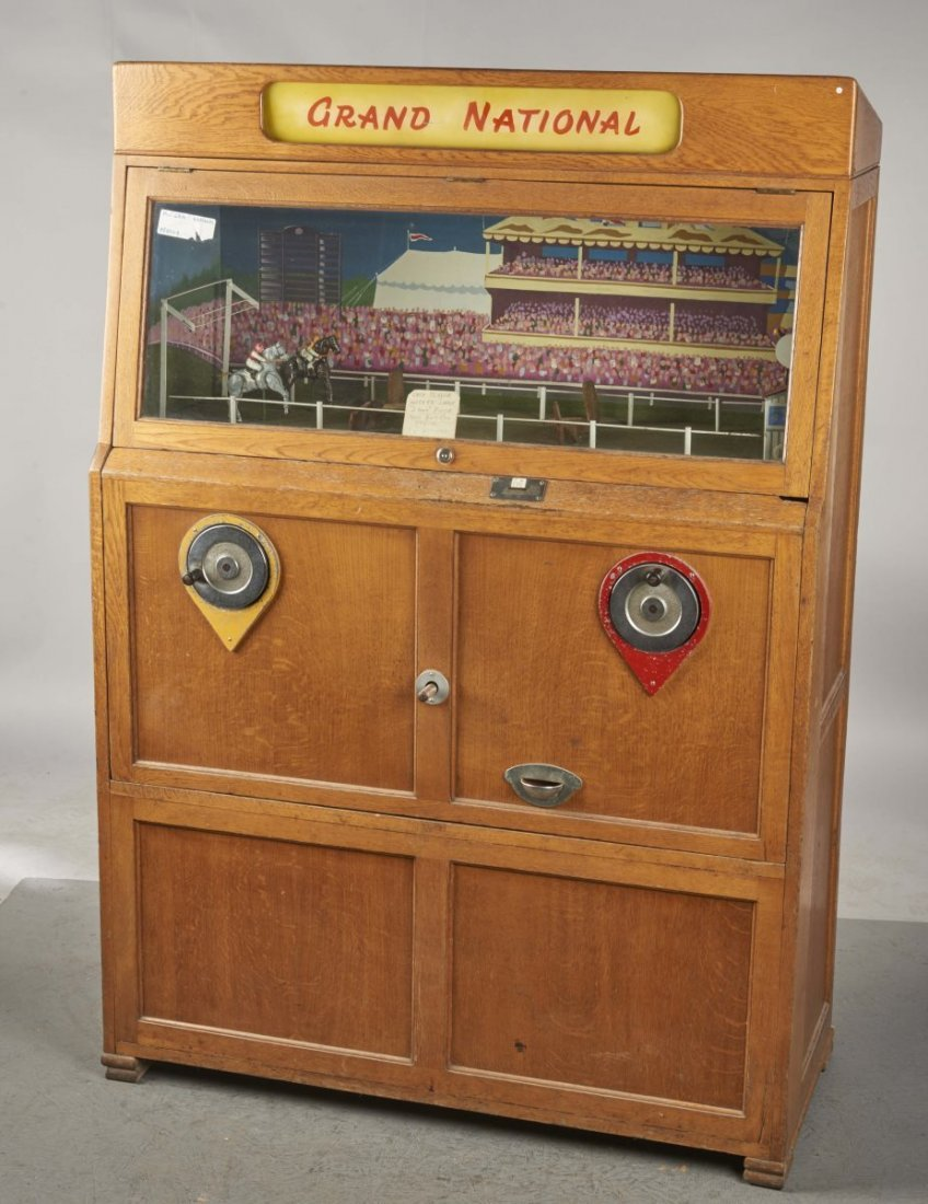 Coin-Operated Grand National Horse Race Game