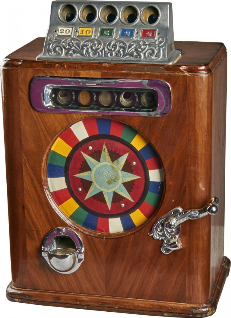 Coin-Op Caille Ben Hur Slot Machine