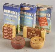 Lot of Hershey's Cocoa Butter Soap Shaving Cream