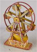 Early J Chein Hercules Tin Litho Ferris Wheel