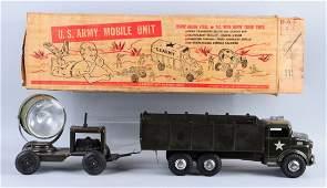 Pressed Steel US Army Mobile Unit