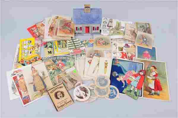 Large Assortment Of Vintage Paper Memorabilia.