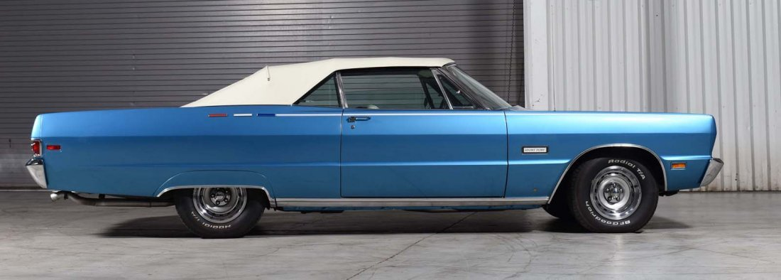 1969 Plymouth Sport Fury Convertible. - 2