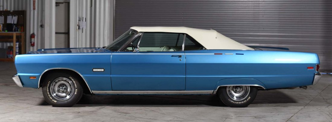1969 Plymouth Sport Fury Convertible. - 3