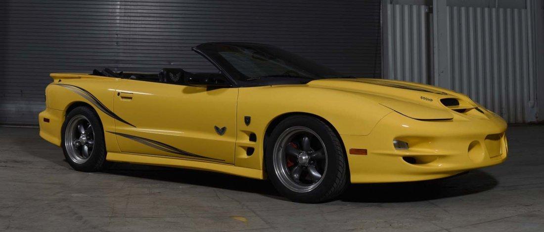 2002 Collector's Edition Trans Am Blackbird.