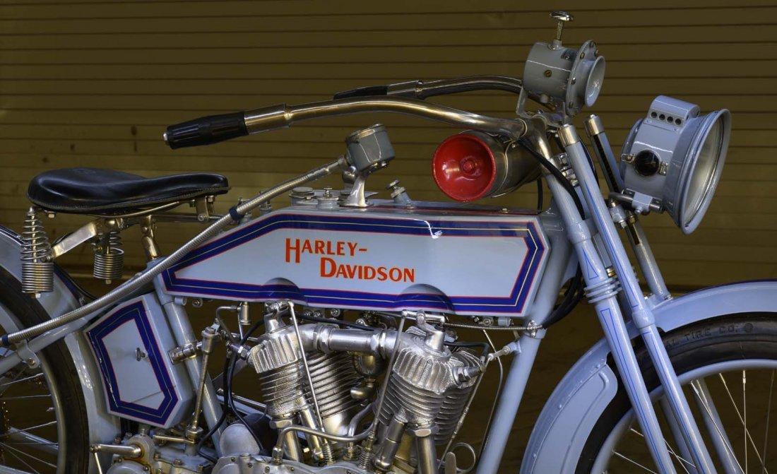 1915 Harley Davidson 11F V-Twin. - 3