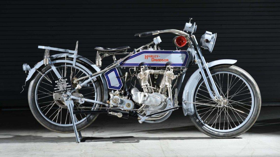 1915 Harley Davidson 11F V-Twin. - 4