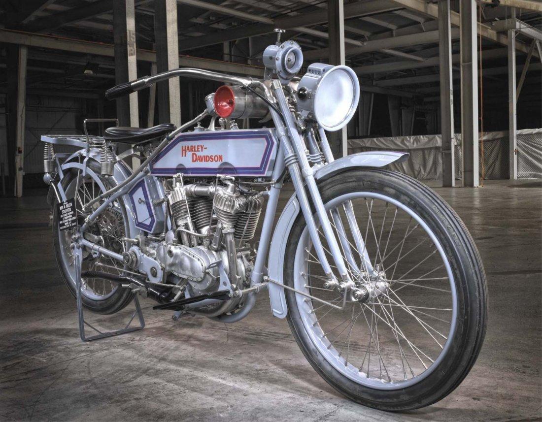 1915 Harley Davidson 11F V-Twin. - 5