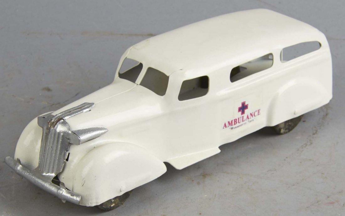 Pressed Steel Wyandotte Ambulance