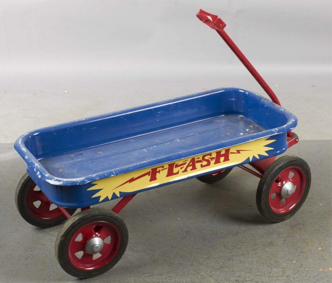 Pressed Steel Flash Coaster Wagon