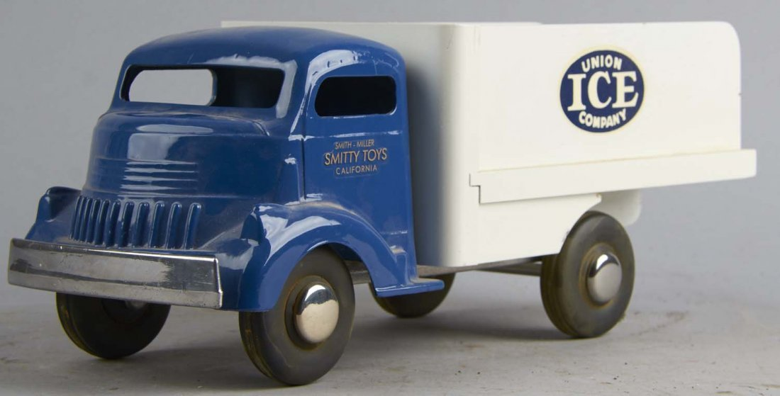 Smith Miller Pressed Steel Union Ice Co. Truck