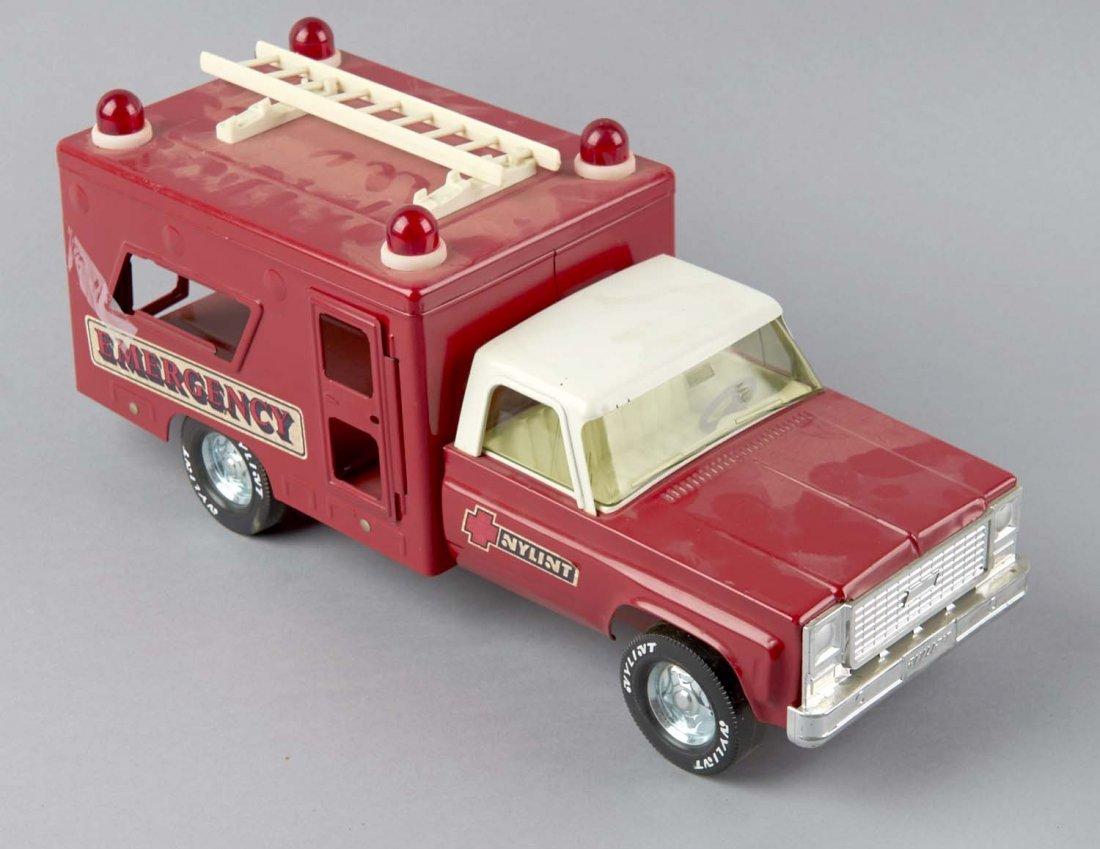 Steel Nylint Emergency Truck