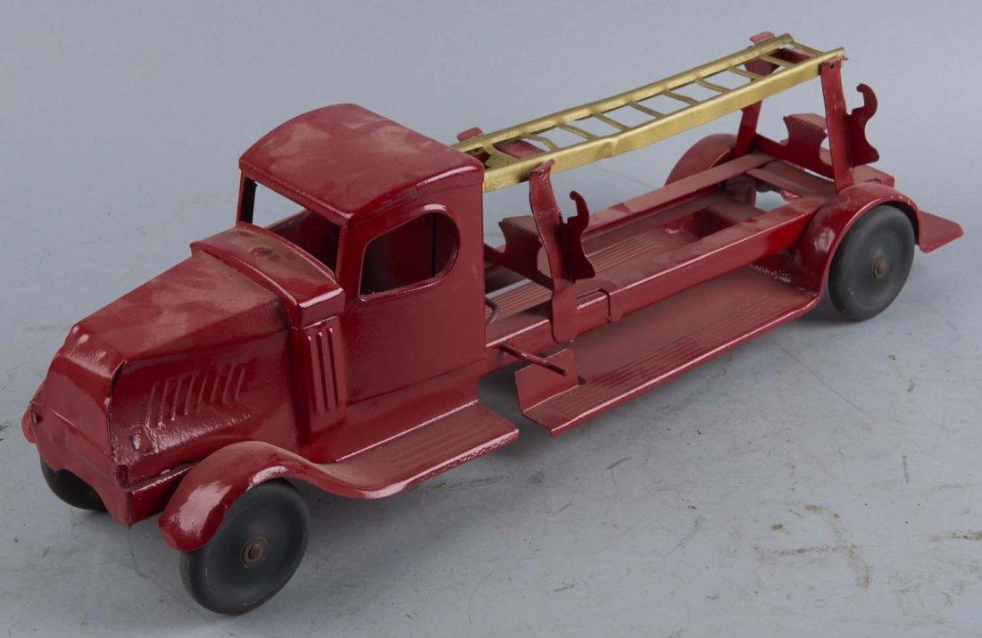 Pressed Steel Ladder Fire Engine Truck
