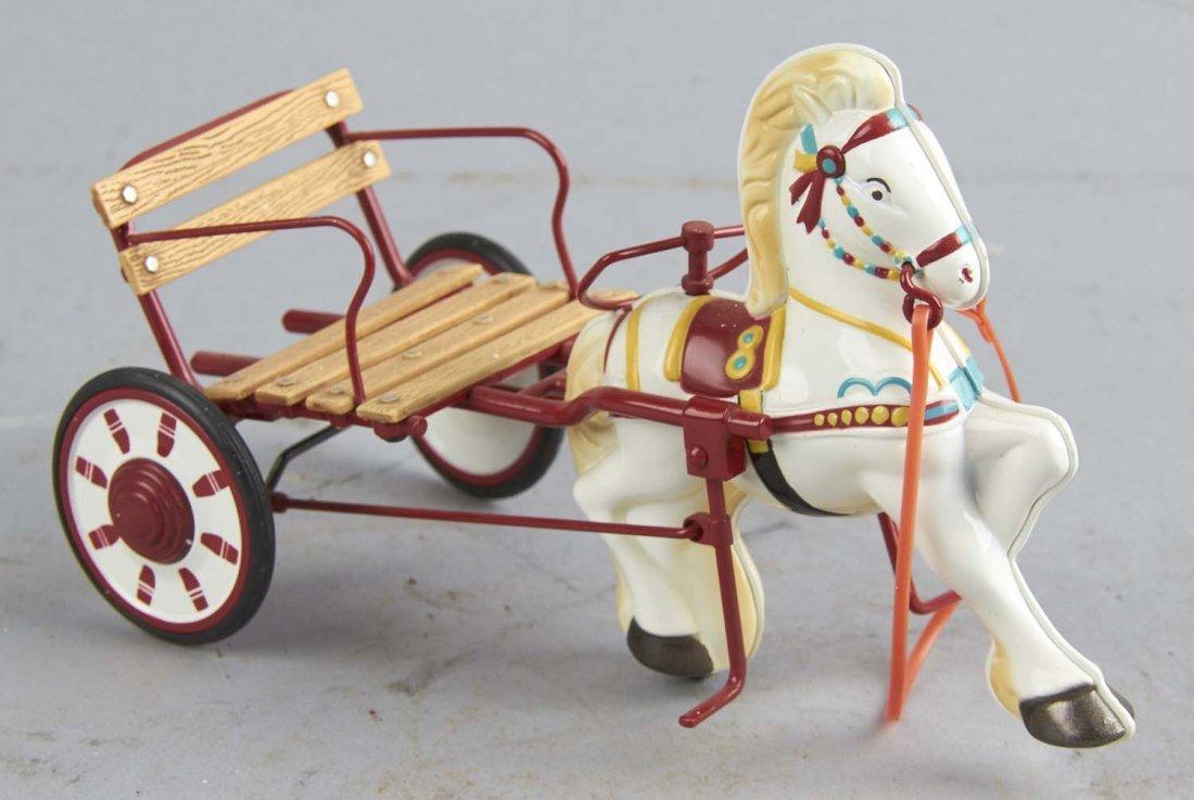 Hallmark Mobo Sulky Horse Miniature Pedal Car