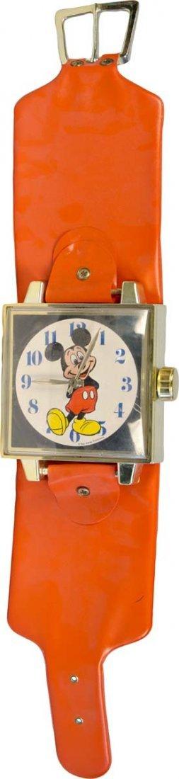 Oversized Mickey Mouse Wrist Watch Wall Clock