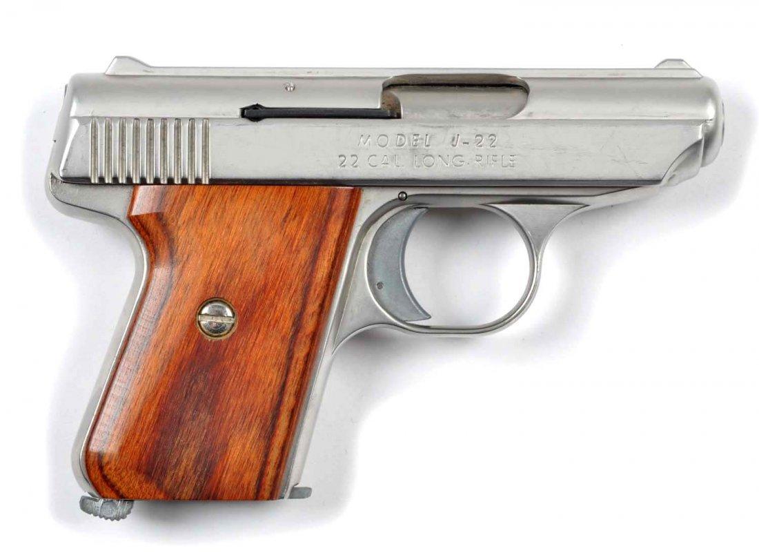 **Boxed Jennings .22 Semi-Automatic Pistol. - 2
