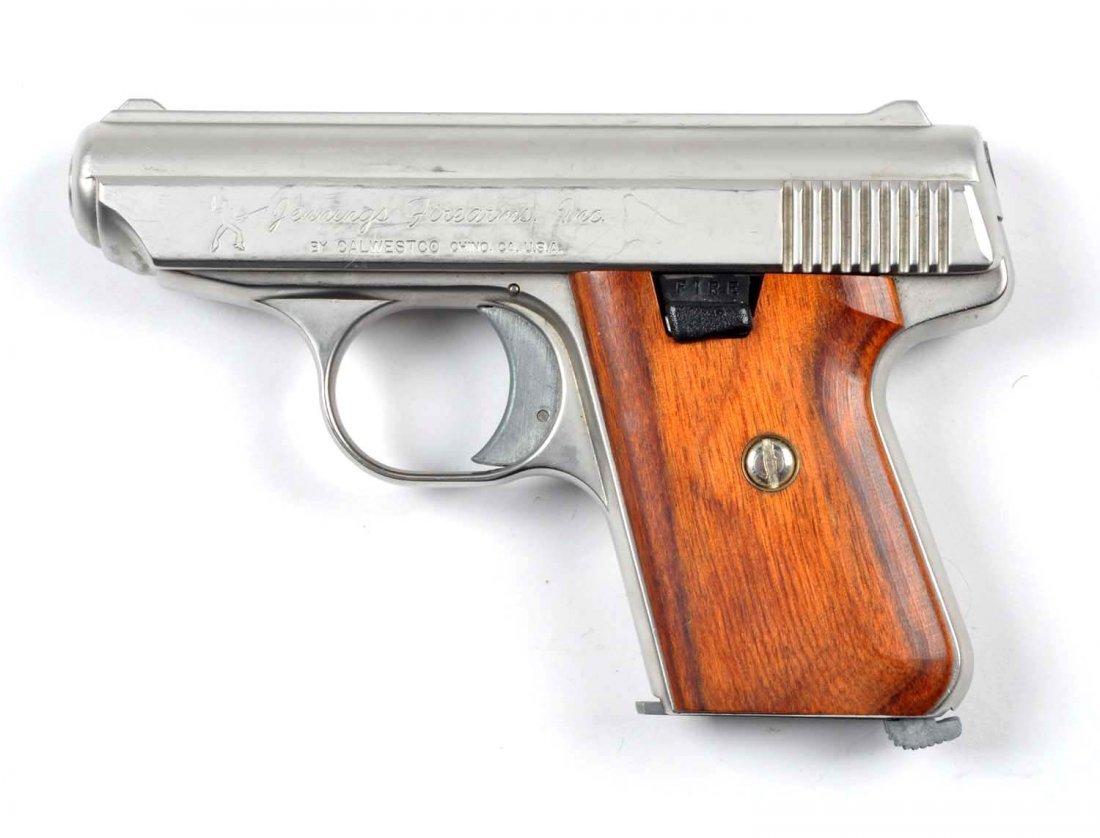 **Boxed Jennings .22 Semi-Automatic Pistol. - 3