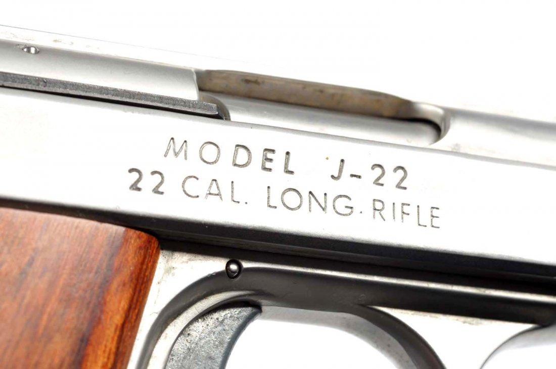**Boxed Jennings .22 Semi-Automatic Pistol. - 4