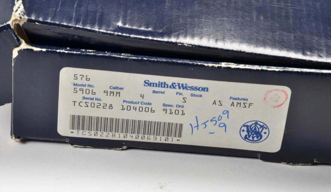 **Boxed S&W Model 5906 Pistol. - 2