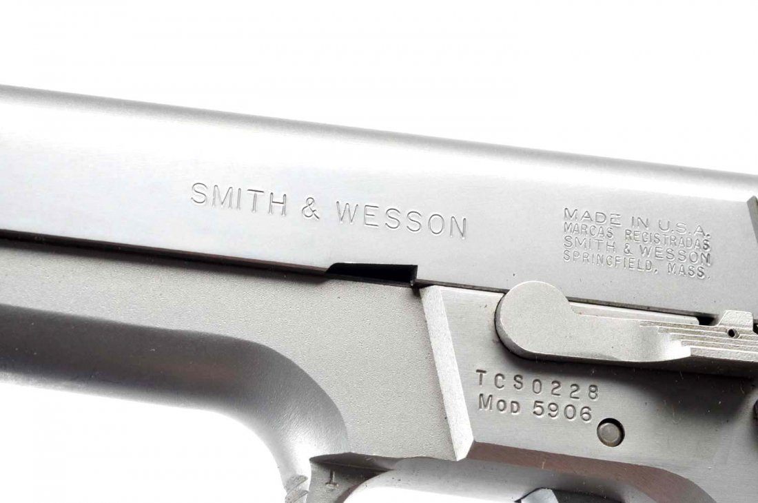 **Boxed S&W Model 5906 Pistol. - 8