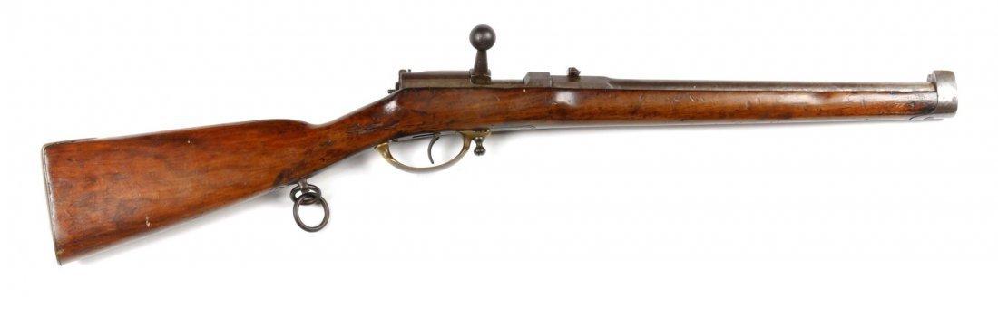 Prussian Dreyse M1857 Cavalry Needle Carbine.