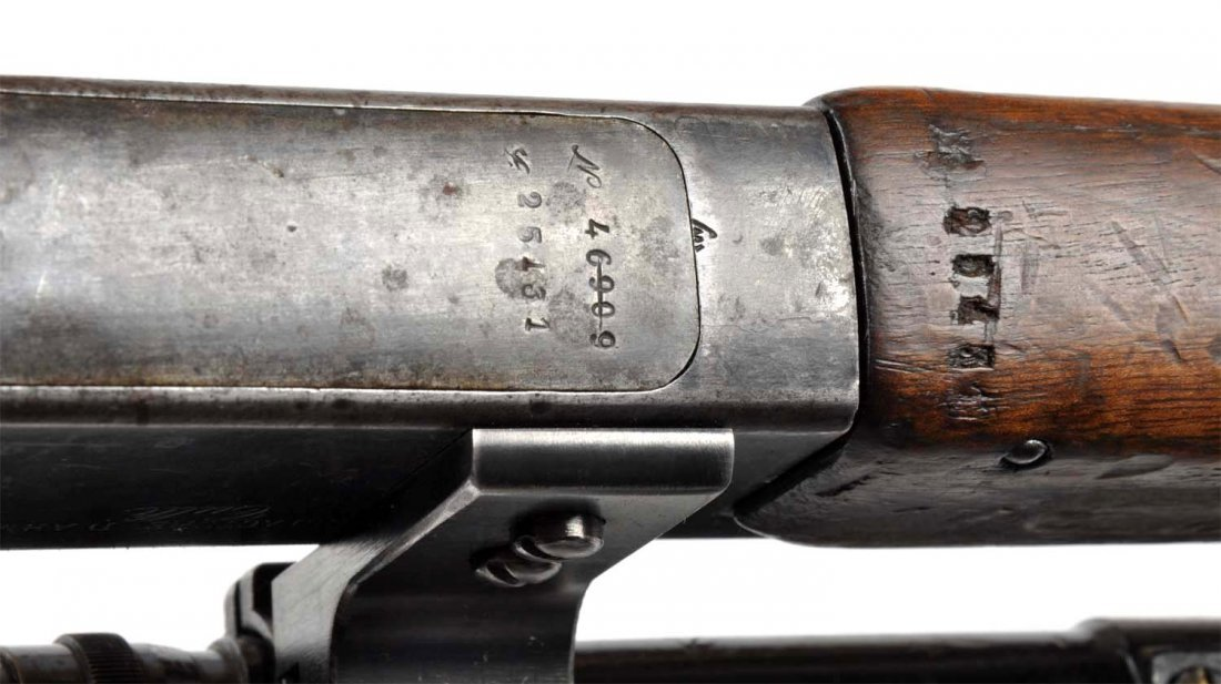 **French WWI Model 1886 Sniper Rifle. - 10