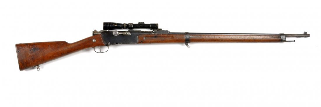 **French WWI Model 1886 Sniper Rifle.