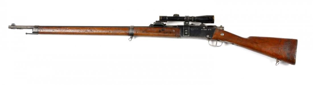 **French WWI Model 1886 Sniper Rifle. - 4