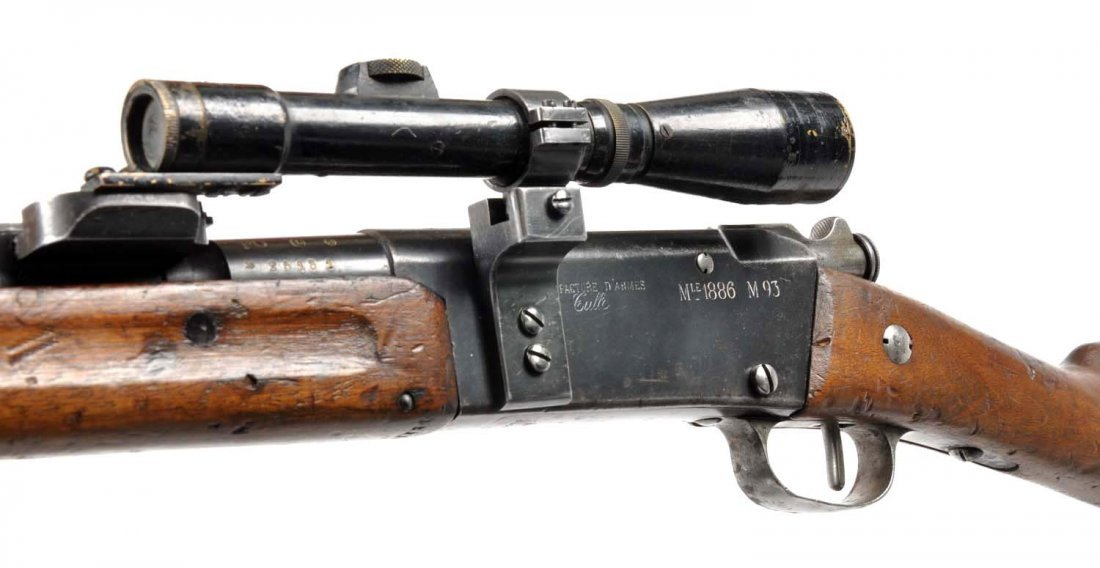 **French WWI Model 1886 Sniper Rifle. - 5