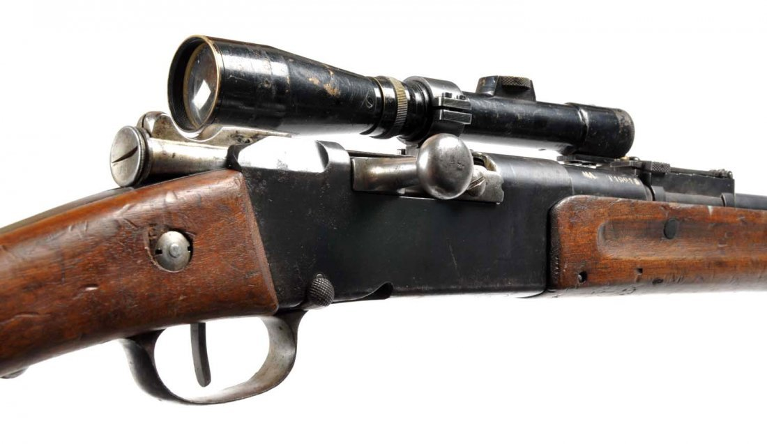 **French WWI Model 1886 Sniper Rifle. - 6