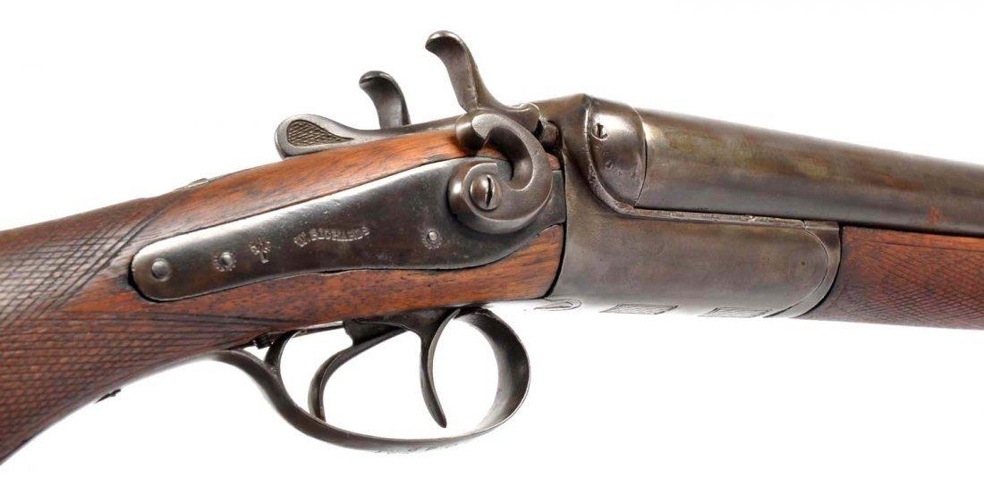 W. Richards Exposed Hammer Coach Gun. - 4