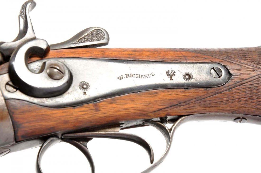 W. Richards Exposed Hammer Coach Gun. - 5