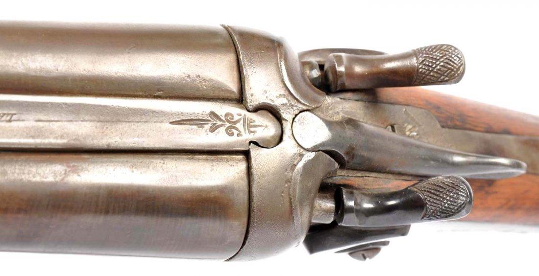 W. Richards Exposed Hammer Coach Gun. - 6