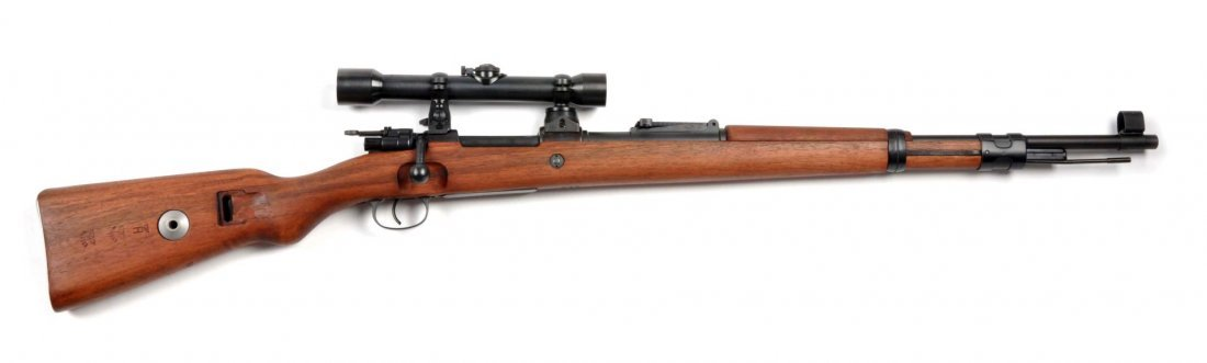 **Custom Mauser Model 98 Sniper Rifle.