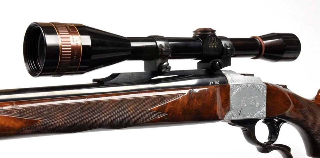 **Ruger No. 1 .22-250 Quantity Single Shot Rifle. - 10