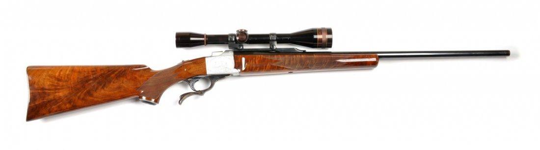 **Ruger No. 1 .22-250 Quantity Single Shot Rifle.