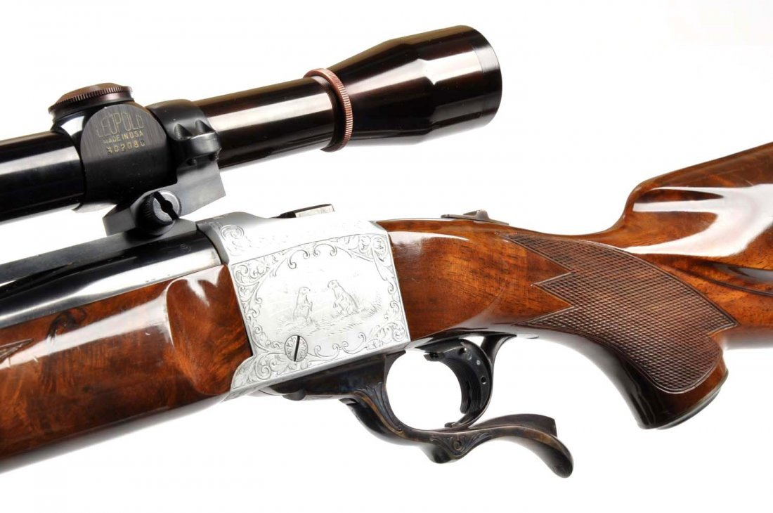 **Ruger No. 1 .22-250 Quantity Single Shot Rifle. - 4
