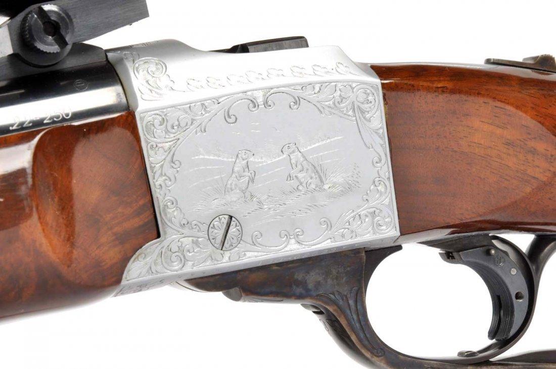 **Ruger No. 1 .22-250 Quantity Single Shot Rifle. - 5