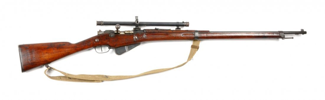 **Model 1907/15 French Berthier Sniper Rifle.