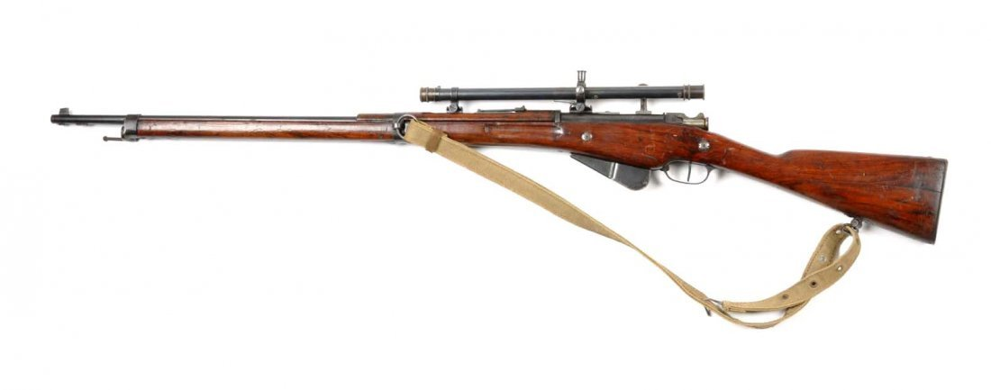 **Model 1907/15 French Berthier Sniper Rifle. - 2