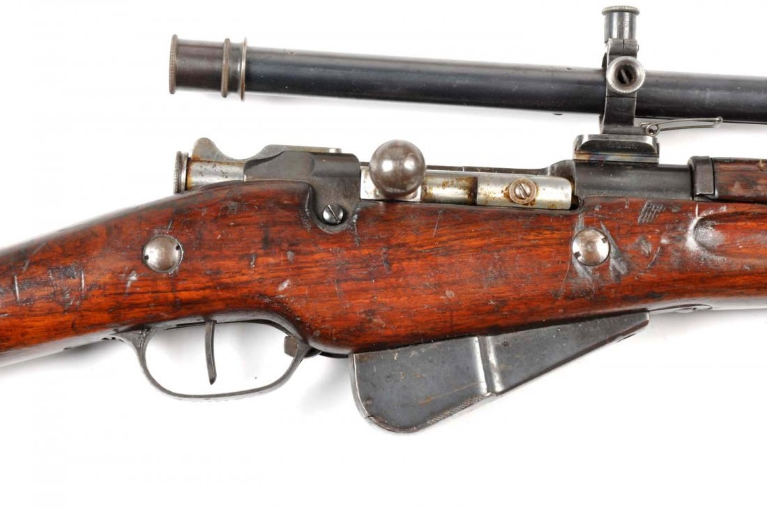 **Model 1907/15 French Berthier Sniper Rifle. - 3