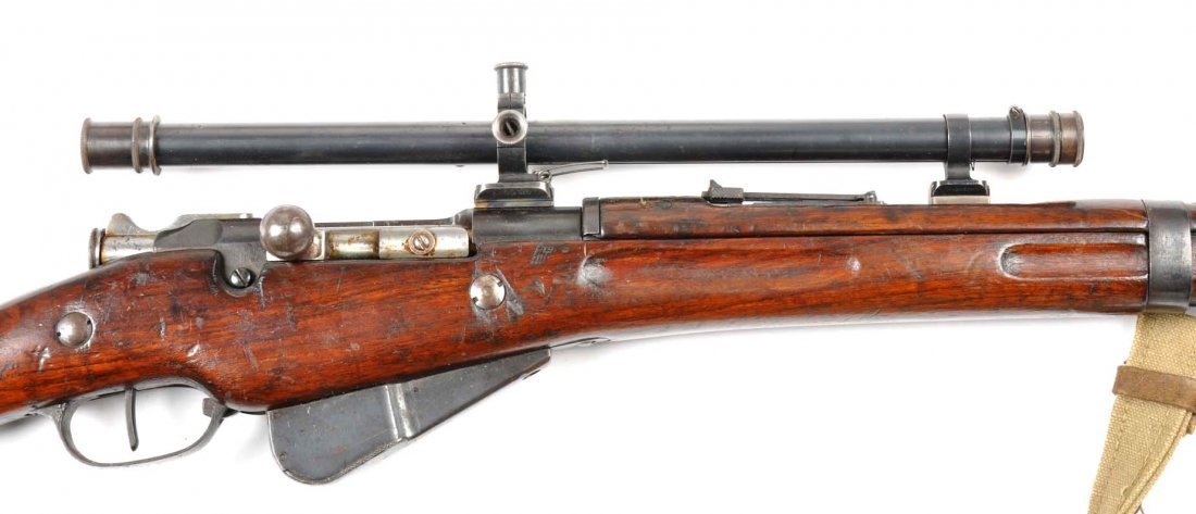 **Model 1907/15 French Berthier Sniper Rifle. - 8
