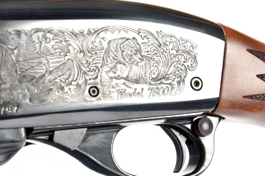 **Remington 7600 7mm-08. - 8
