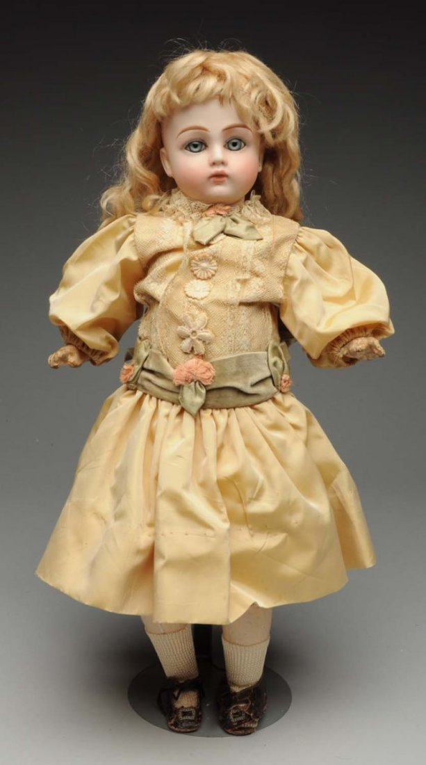 Early German Bisque Doll.