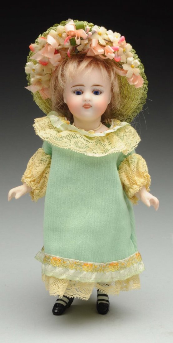 Lovely S & H All-Bisque Doll.