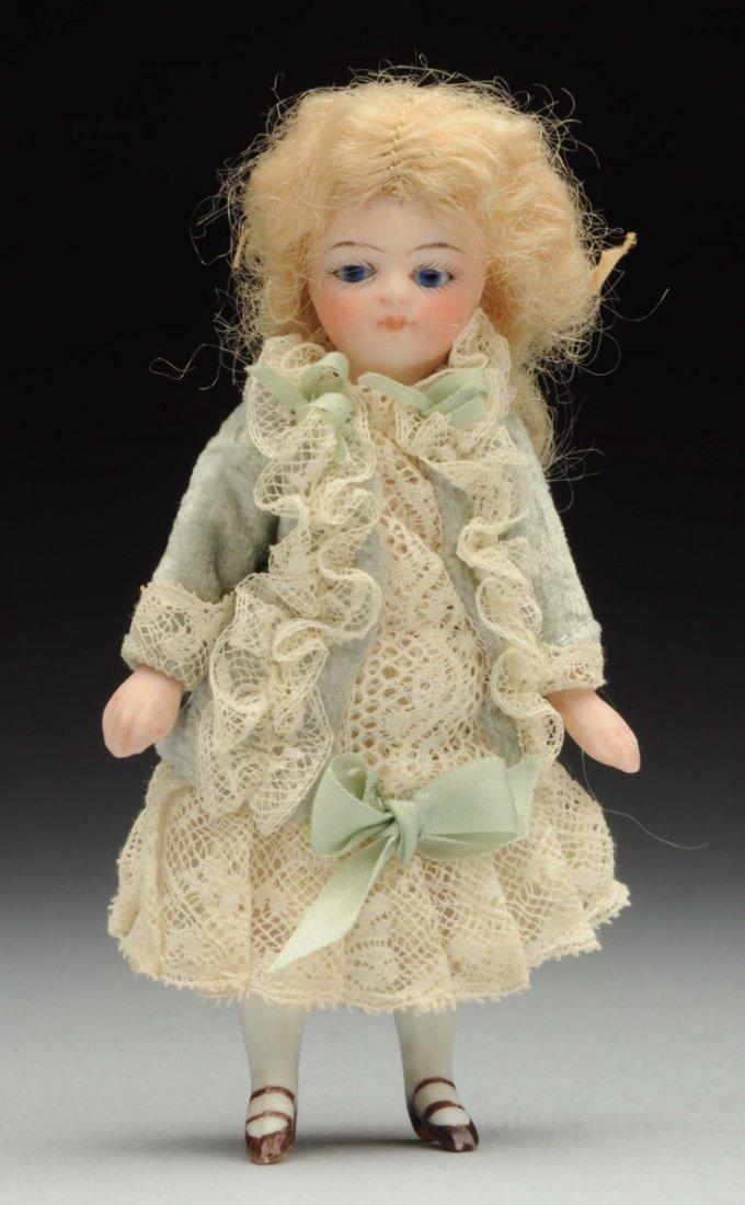 Dainty All-Bisque Mignonnette Doll.