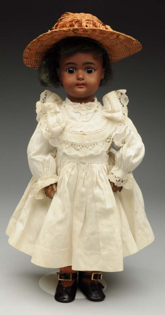 Petite Brown S & H Child Doll.